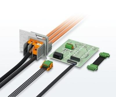 Bornes y conectores para placas de circuito impreso industriales