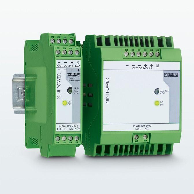 MINI POWER: fuentes de alimentación para la técnica de medición, control y regulación
