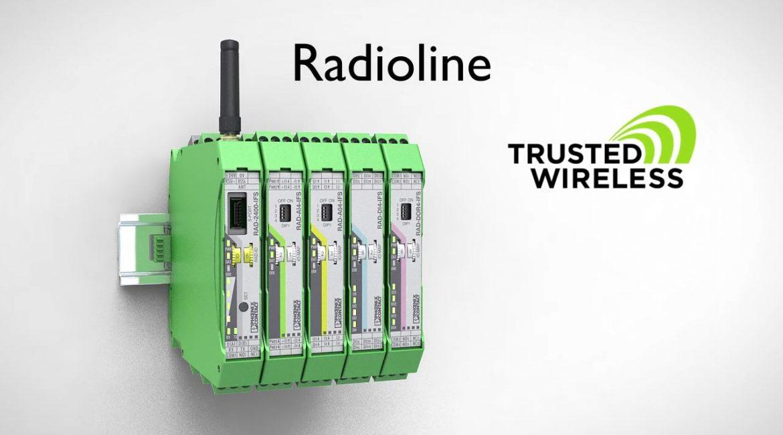 Radioline: comunicación inalámbrica de Phoenix Contact