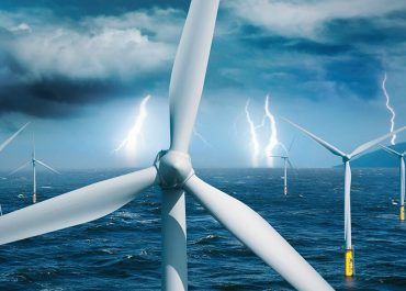 Parques eólicos seguros: proteja sus aerogeneradores contra descargas de rayos
