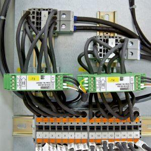 Supervisión de corrientes y tensiones del string