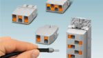Push-in para cables de alimentación