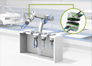 Cambio de herramienta en los robots industriales