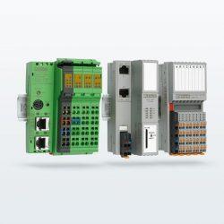 Sistemas de E/S Inline y Axioline F con PLC